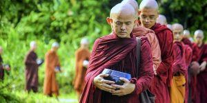 alms-collecting-monks-walking-in-line