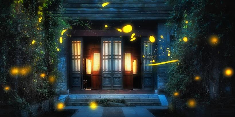 linggu-temple-in-nanjing-with-fireflies