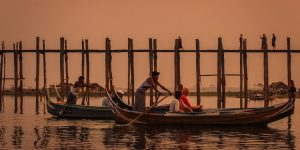 boating-at-sunset-in-amarapura