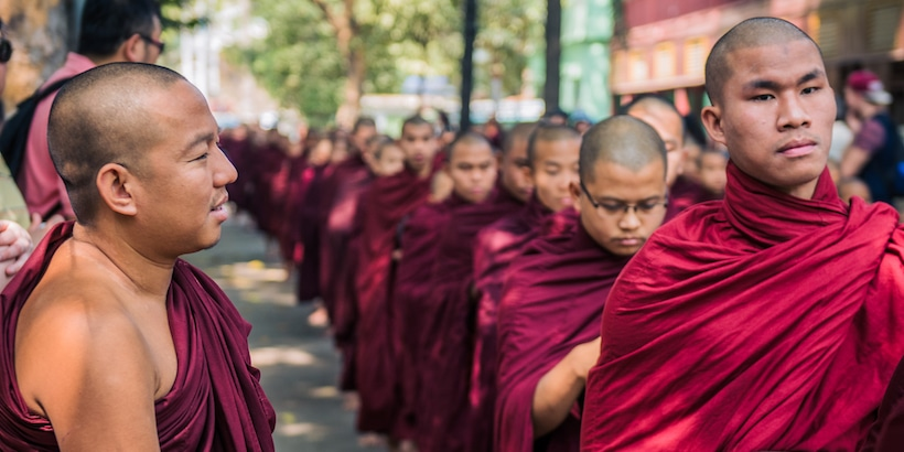 monks-waiting-in-line-for-lunch