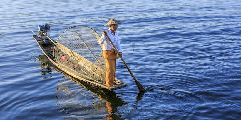 a-local-fisherman-in-inle-lake