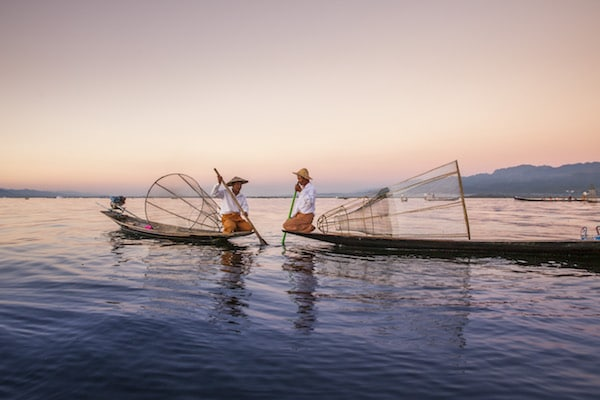 fishermen-in-inle-lake