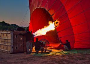 Balloon Flight Experience Over Bagan in Myanmar