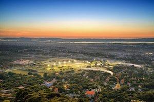 mandalay-city-at-sunset