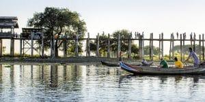 boating-near-u-bein-bridge