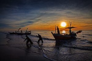 fisherman-on-hun-sen-beach-in-sihanoukville