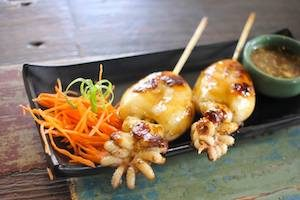 squid-skewers-at-one-owl-grill