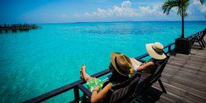 relaxing-at-a-beach-resort
