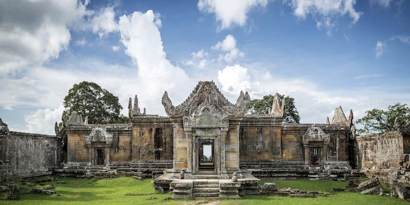 preah vihear temple at the thai cambodia border