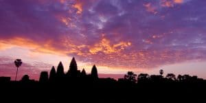 purple-sunset-view-of-angkor-wat