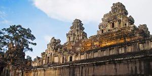 Ta keo temple sunrise siem reap cambodia