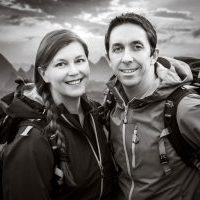 Photographer Andy Beales with Mia Beales in Guilin China