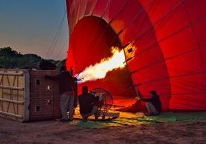 Balloon Flight Experience Over Bagan in Myanmar